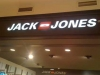 Lettrage, lumineux, commerce, Jack Jones