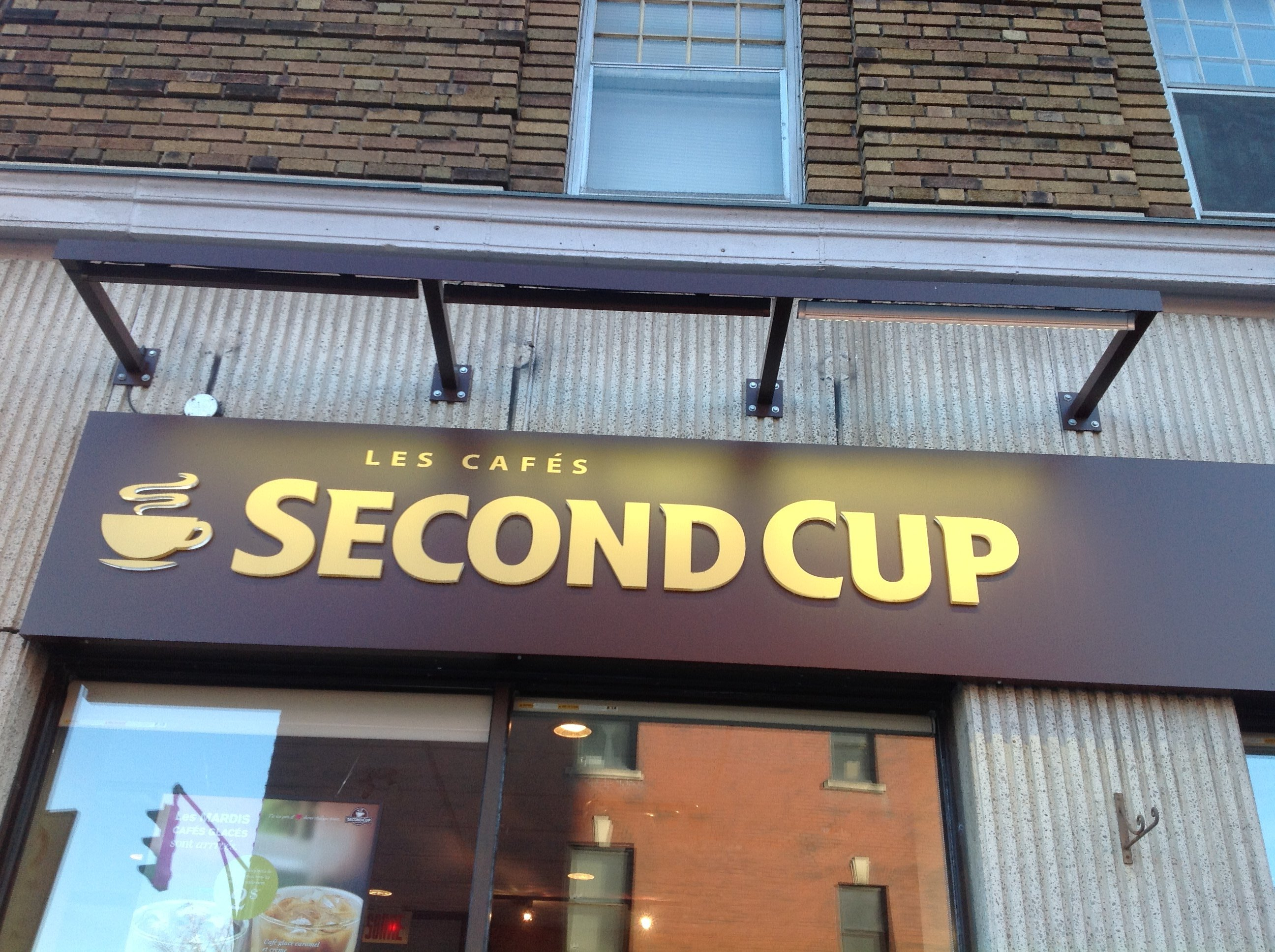 second-cup-enseigne-murale